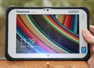 Test de la tablette Panasonic ToughPad FZ-M1 8