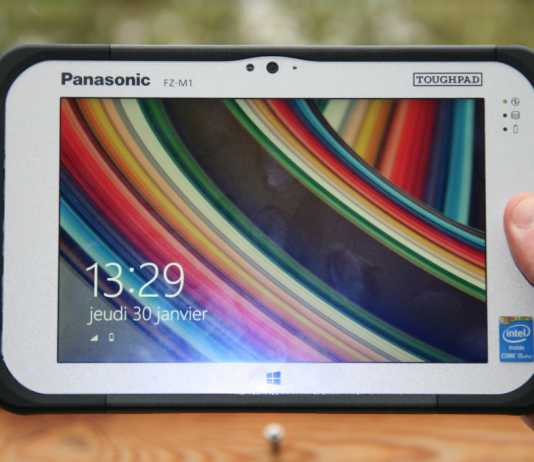 Test de la tablette Panasonic ToughPad FZ-M1 8