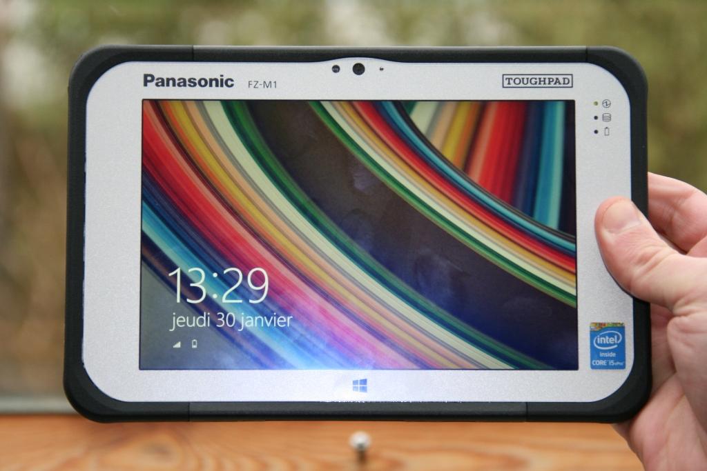 Test de la tablette Panasonic ToughPad FZ-M1