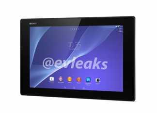 Premières photos de la tablette Sony Xperia Tablet Z2 1