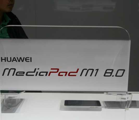 [MWC 2014] Présentation de la tablette Huawei MediaPad M1 8.0 et MediaPad Youth 2 9