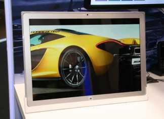 [MWC 2014] Prise en main de la tablette Panasonic Toughpad 4K de 20 pouces ! 10