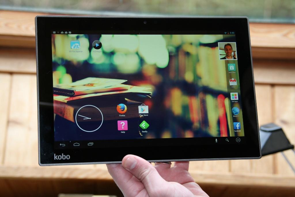 Test complet de la tablette Kobo Arc 10 HD