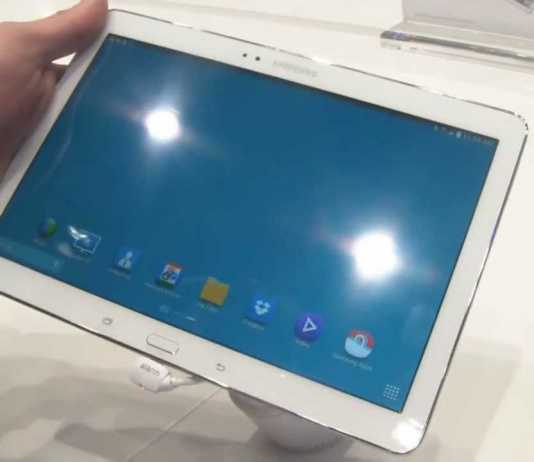 [MWC 2014] Vidéo de la tablette Samsung Galaxy Tab Pro 10.1  10