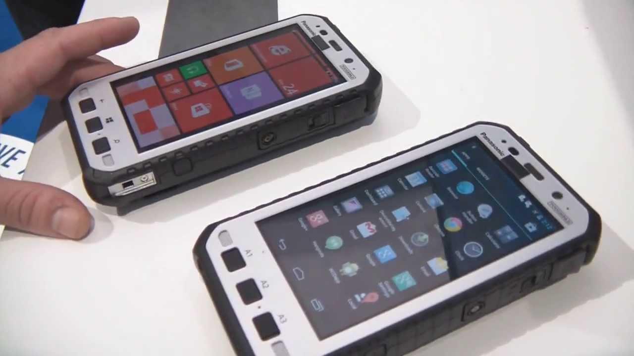 [MWC 2014] Présentation du Panasonic ToughPad 5 (FZ-E1 et FZ-X1) sous Windows 8 et Android 4.2