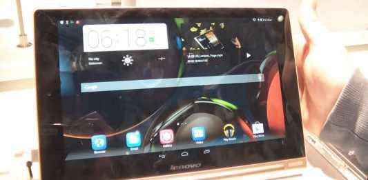[MWC 2014] Lenovo lance la Yoga Tablet 10 HD+ sous Android 4.3 9