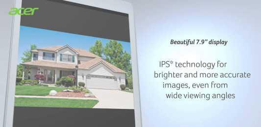 La tablette Acer Iconia A1-830 se dévoile dans une publicité 2