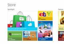 """Mise à jour de Windows 8.1 : Les premières photos indiquent un seul """"store""""pour les applications 3"""