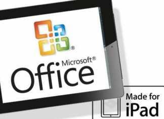 Microsoft dévoile Office pour iPad 10