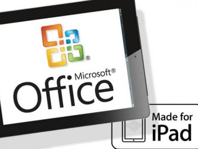 Microsoft dévoile Office pour iPad