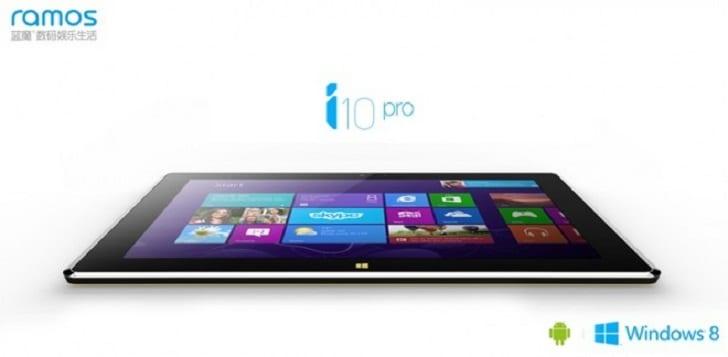 Ramos lance la i10 Pro, une tablette à double OS