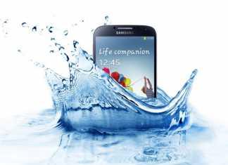Le Samsung Galaxy S5 plongé pendant 8 minutes sous l'eau 2