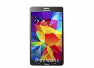 Samsung Galaxy Tab 4 au format 7 pouces, la première photo fuite sur le web 1