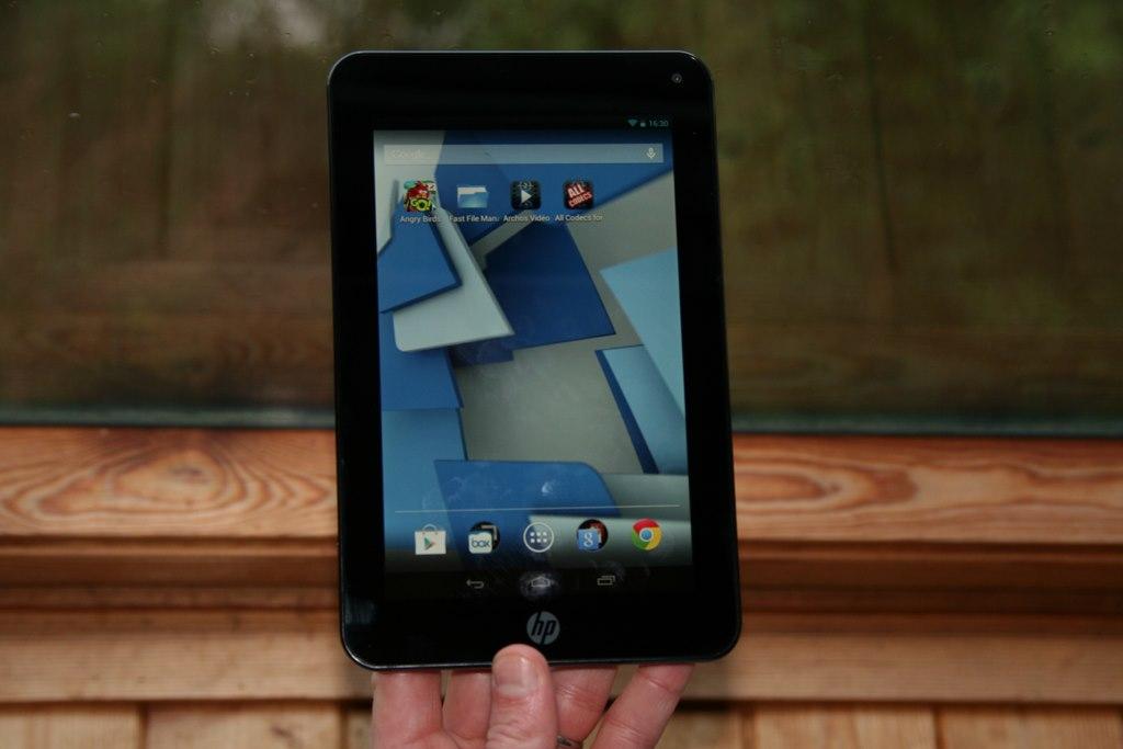 Test complet de la tablette HP Slate 7 Plus