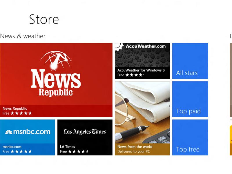 Le Windows Store passe le cap des 4 millions de téléchargements d'applications par jour