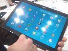 [MWC 2014] Prise en main de la tablette Samsung Galaxy Note Pro 12.2 4G LTE 2