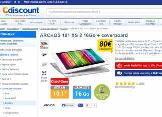 [Bon plan] La tablette Archos 101 XS2 à 215€