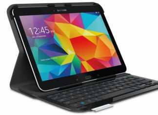 Logitech lance un clavier ultra-mince pour Galaxy Tab 4 (10.1) 5