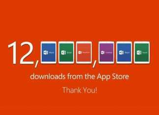 Microsoft Office sur iPad : 12 millions de téléchargements depuis son lancement !