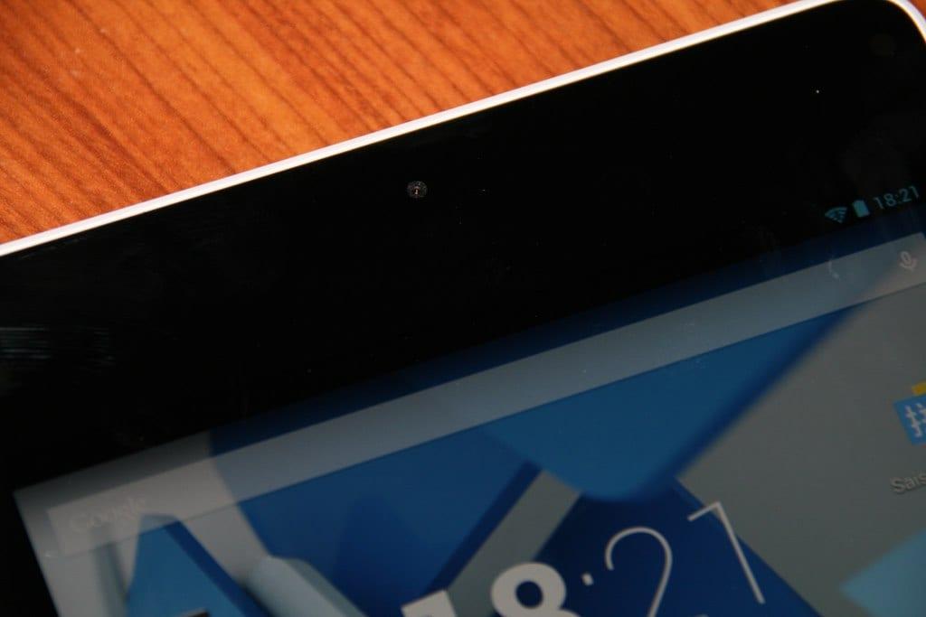 Test HP Slate 8 Pro camera avant