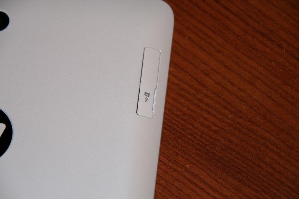 Test HP Slate 8 Pro slot micro SD