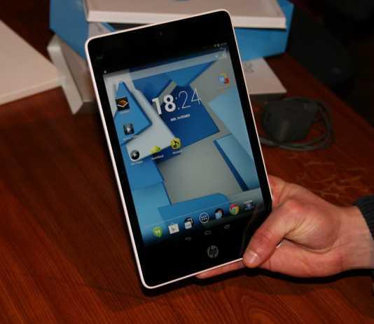 Test de la tablette HP Slate 8 Pro 4