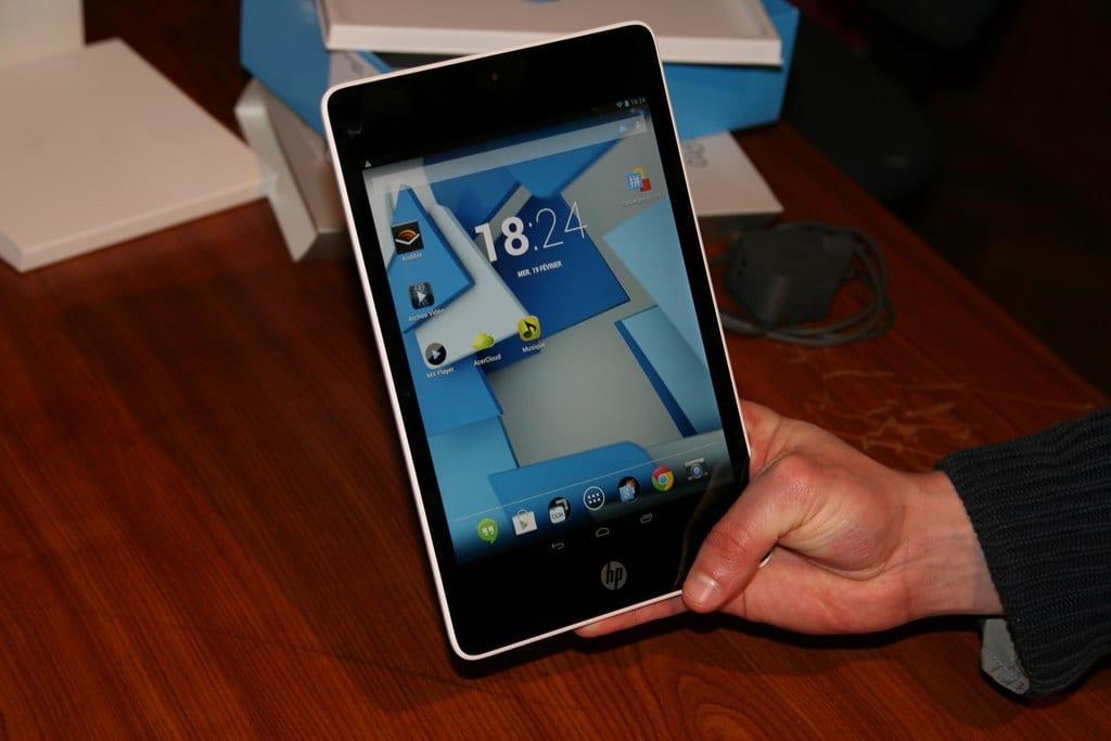 Test de la tablette HP Slate 8 Pro