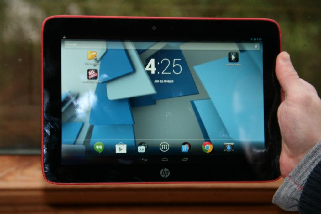 Test de la tablette HP Slate 10 HD