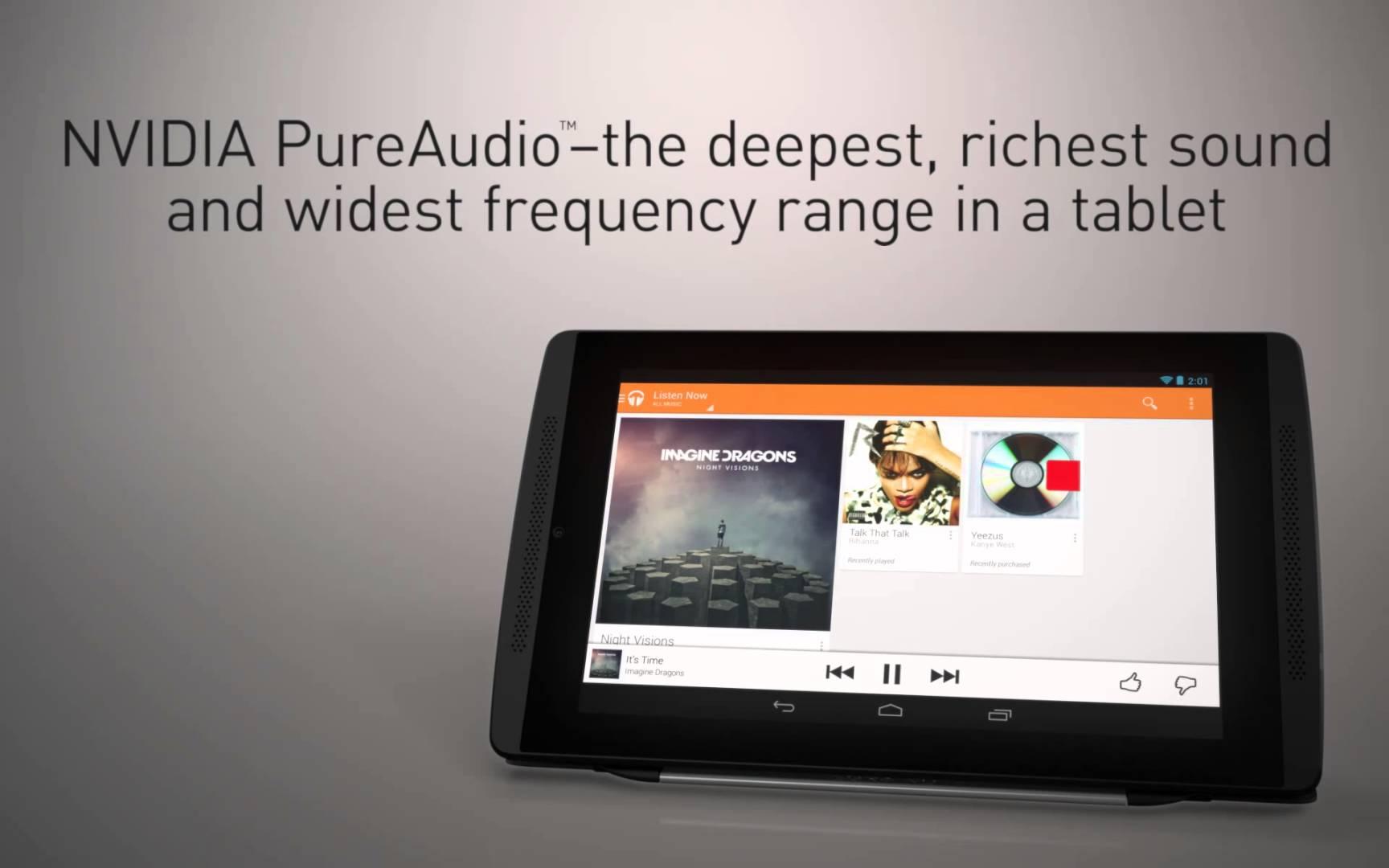 La tablette Nvidia Tegra Note est disponible à l'achat en France