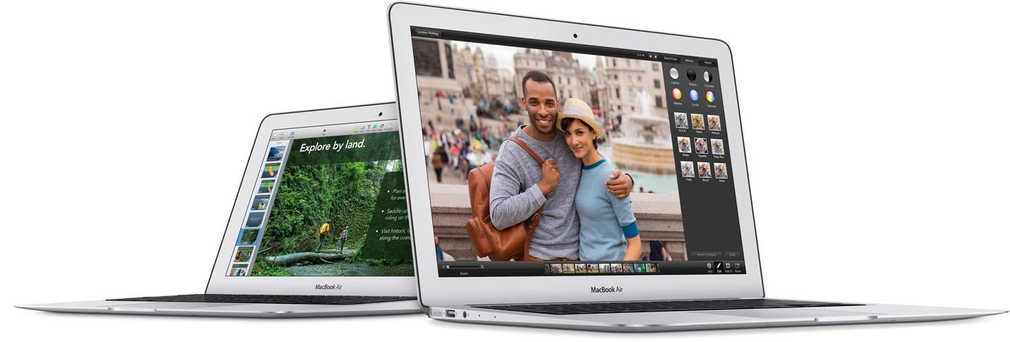 Apple met à jour sa gamme de MacBook Air pour l'année 2014