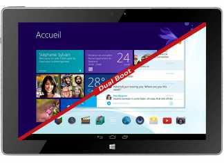 Une tablette dual-boot Android/Windows 8.1 présentée par Thomson, la THBK1 1