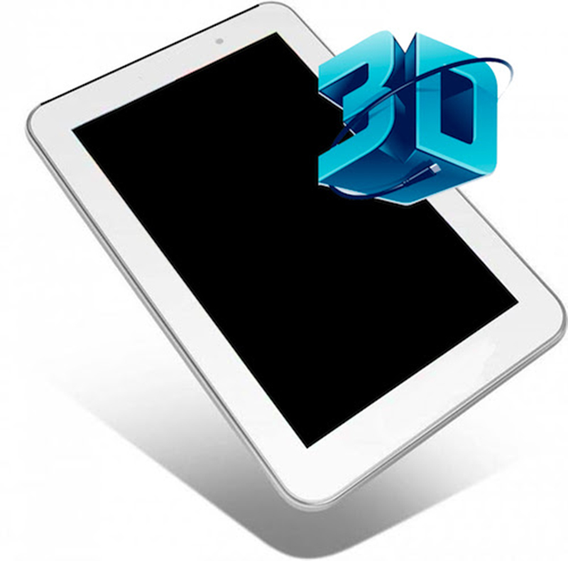 YziPocket3D : La première tablette 7 pouces avec écran 3D sans lunettes