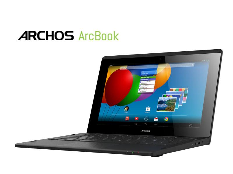 Archos lance le Arcbook, une tablette avec un dock clavier pour 149€