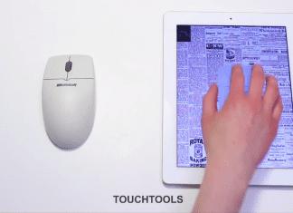 Contrôler sa tablette avec de vrais outils, disons presque vrais! 2