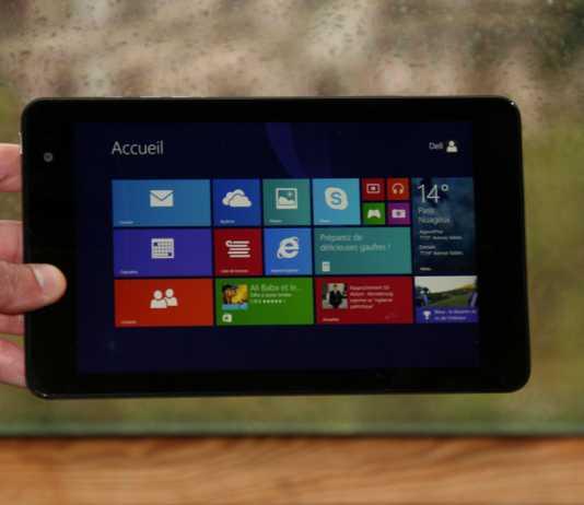 Test et avis tablette Dell Venue 8 Pro  3