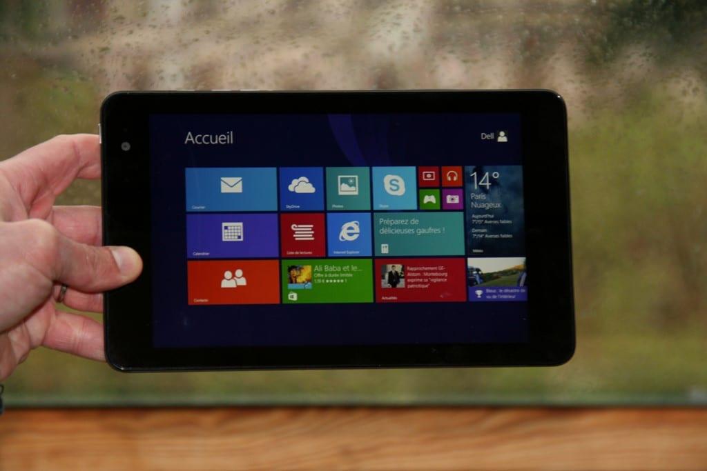 Test et avis tablette Dell Venue 8 Pro