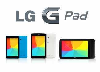 Première publicité des tablettes LG G Pad 7.0, 8.0 et 10.1 4