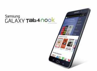 Barnes & Noble et Samsung s'associent pour proposer une tablette Galaxy Tab 4 Nook 4