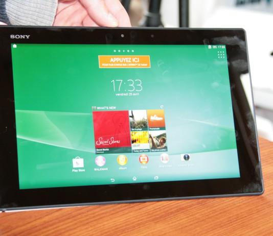 Test de la tablette Sony Xperia Tablet Z2  5