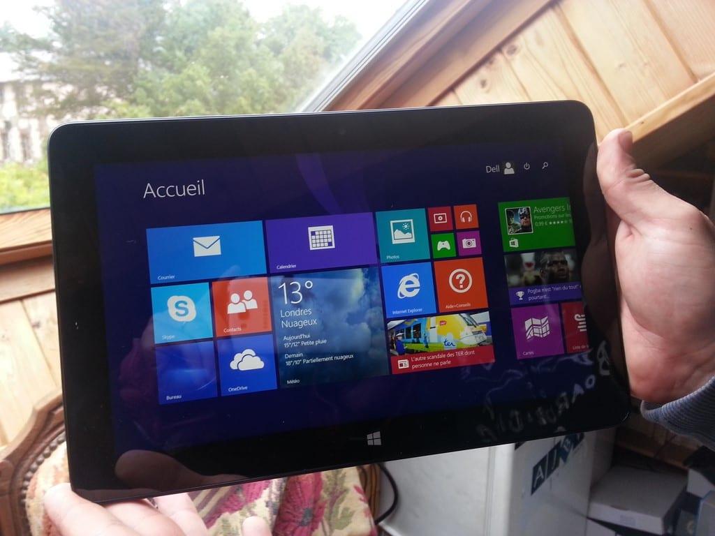 Test de la tablette Dell Venue Pro 11