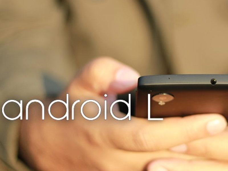 Le point sur Android L