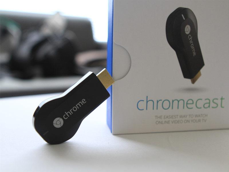 Google Chromecast permet de diffuser l'écran de sa tablette Android vers votre téléviseur