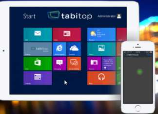 TabiMouse et TabiTob, deux applications pour transformer votre iPad en tablette Windows 8.1 5