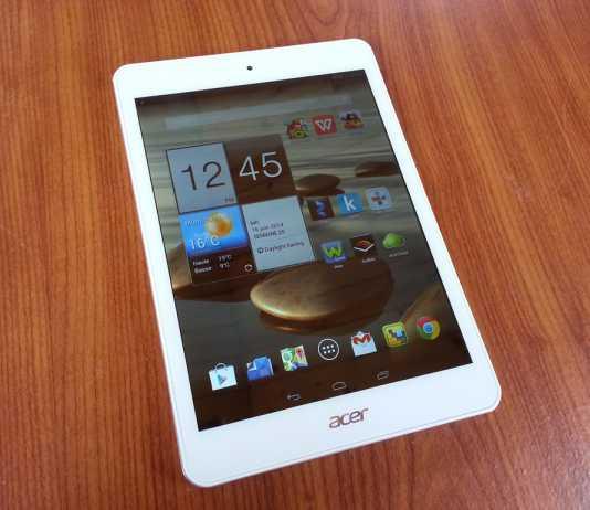 Test de la tablette Acer Iconia A1-830 7