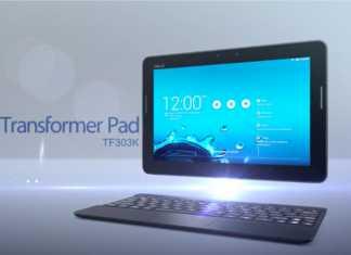 Asus dévoile la vidéo promotionnelle de sa Transformer Pad TF303K 3