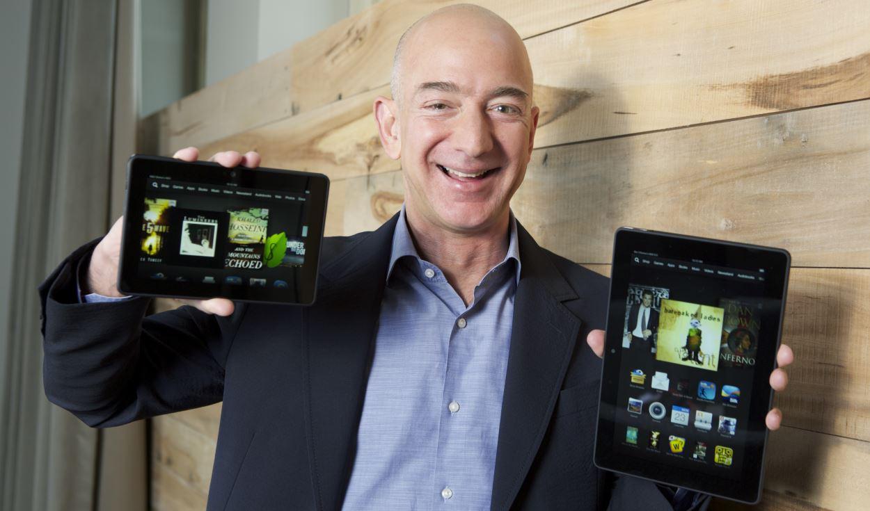 Amazon : une nouvelle version de la tablette Kindle Fire HDX en prévision