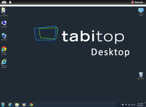 TabiMouse et TabiTob, deux applications pour transformer votre iPad en tablette Windows 8.1 8