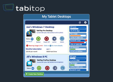 TabiMouse et TabiTob, deux applications pour transformer votre iPad en tablette Windows 8.1 9