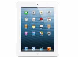 Vente flash iPad avec écran Retina Wi-Fi 16 Go Blanc