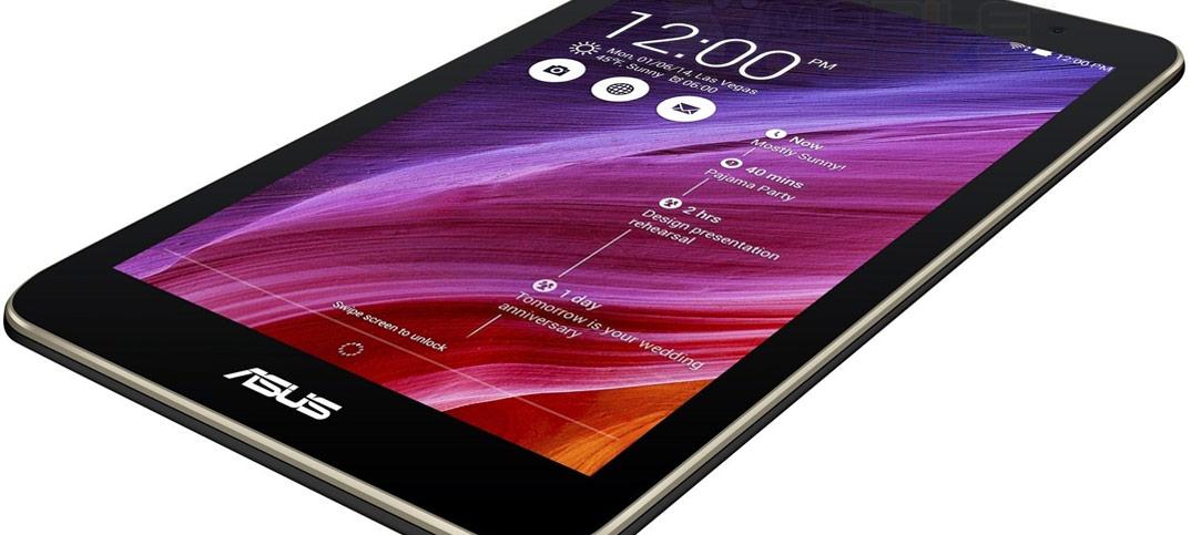 Tablette tactile Asus K007 : un modèle 7 pouces avec écran full HD et processeur Intel Moorefield Z3560